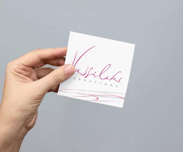 Corporate Identity – Vassiliki Creations