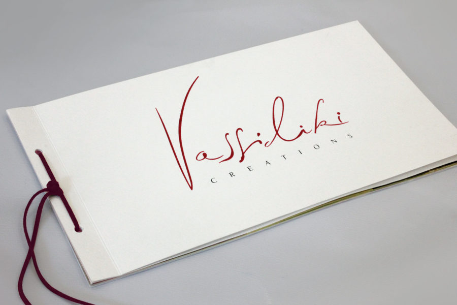Brochure Design – Vassiliki Creations