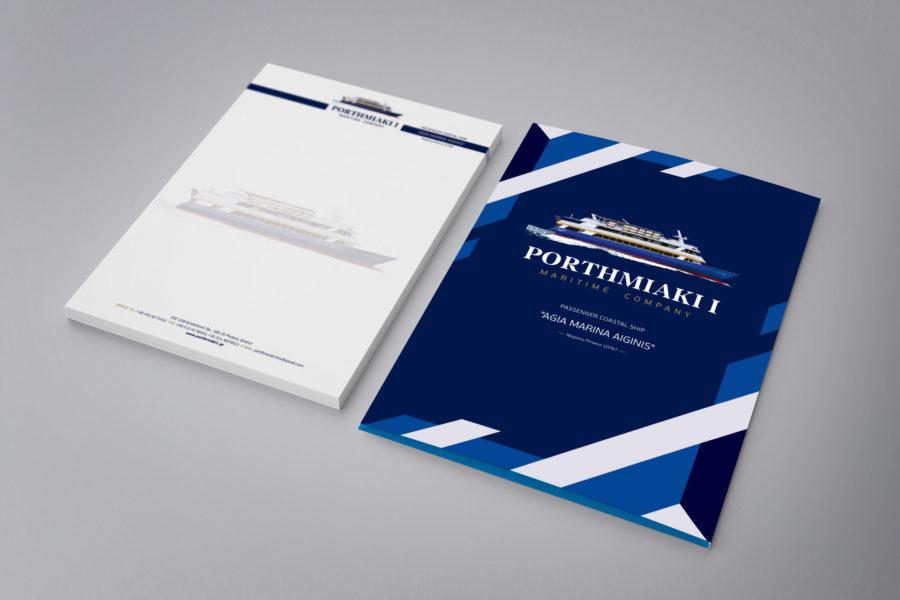 Leaflet , Folder – Portmiaki
