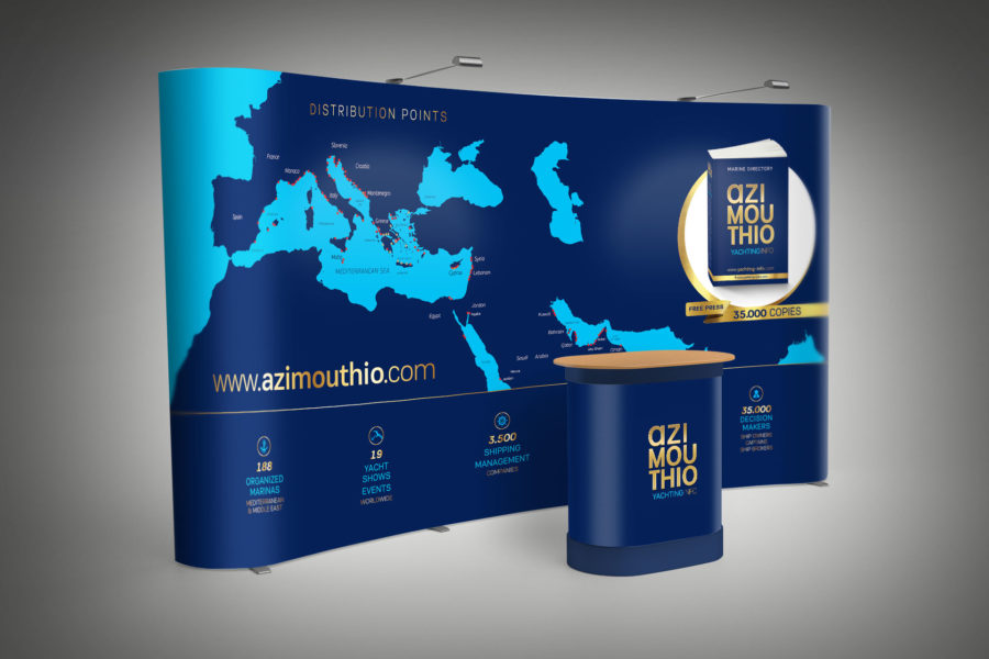 Exhibition Stand Design – Azimouthio Yachting Info Directory