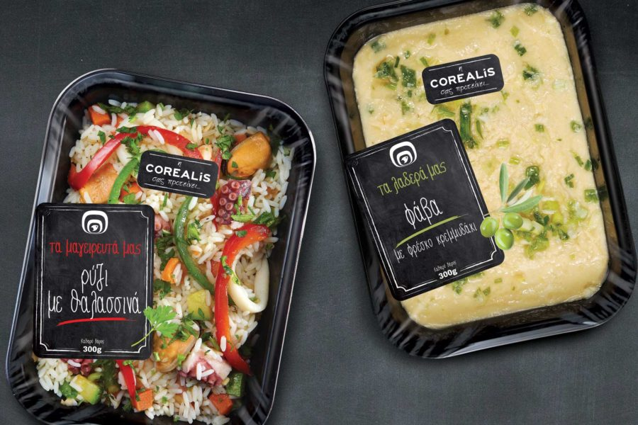 Packaging Design Corealis Ready Meals