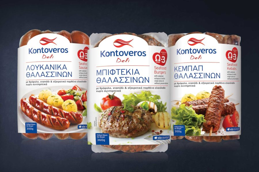 Packaging Design Kontoveros Deli