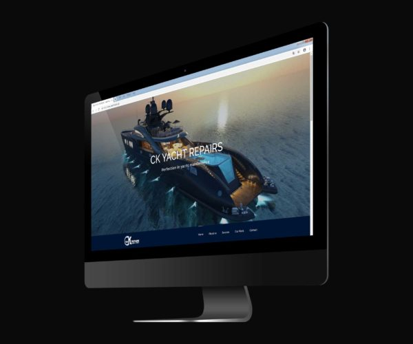 Website Design – CK YachtRepairs