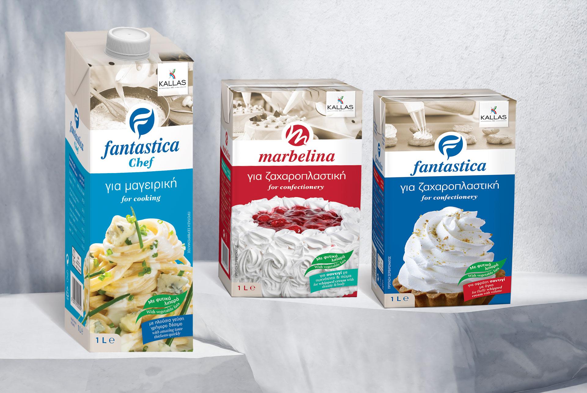 Fantastica & Marbelina Packaging